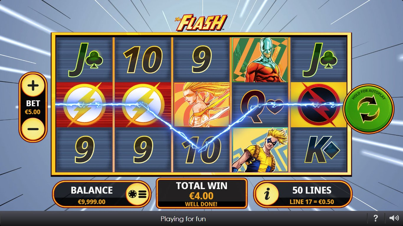 The Flash Slot Game