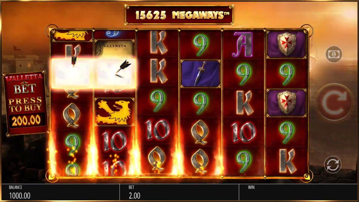 Valletta: Megaways  Slot Game