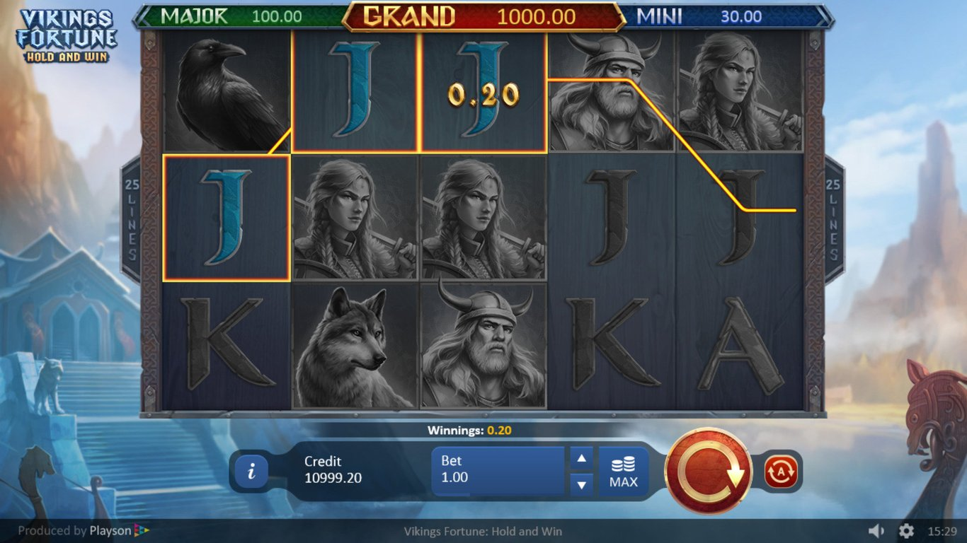 Spiele Vikings Fortune Hold And Win - Video Slots Online